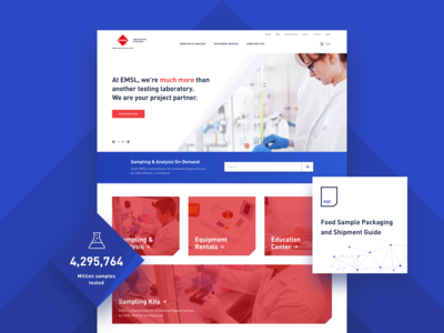 EMSL – Web Design