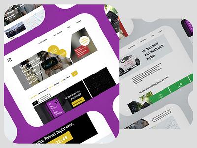 Robotica Festival Website Design interface webdesign inspiration branding dutch technology festival ui design ux