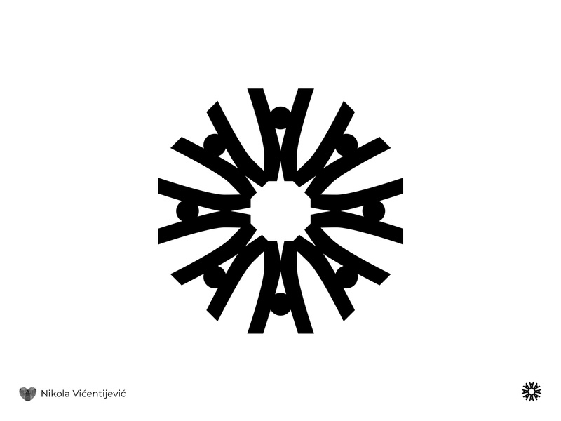 Human star beauty logo circle star wars human star logo human logo black and white minimalist design logo