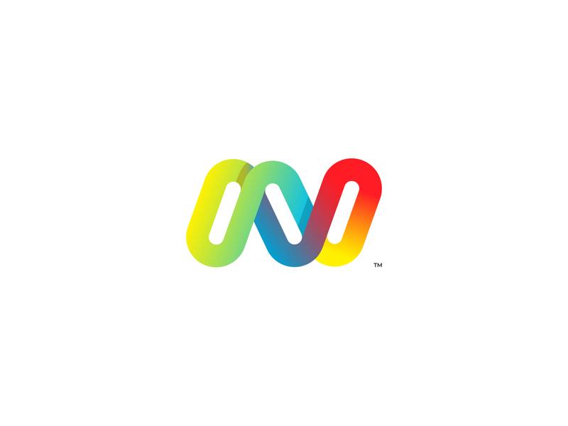 Neonist symbol icon ux ui illustration vector branding logo design