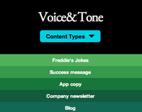 Responsive Enhancement on Voice & Tone