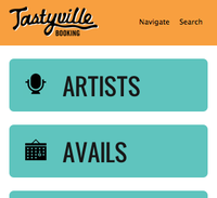 Making Tastyville Responsive