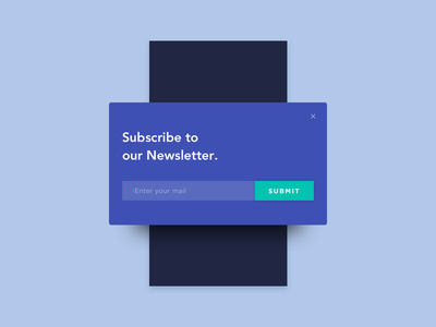 Daily UI #026 - Subscribe minimal color ui newsletter form mobile app subscribe 026 dailyui