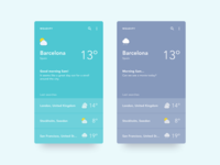 Daily UI #037 - Weather