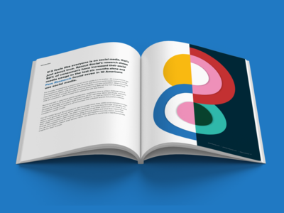 Sprout Social Index Spread data report report design system branding design typography data social media illustration layout