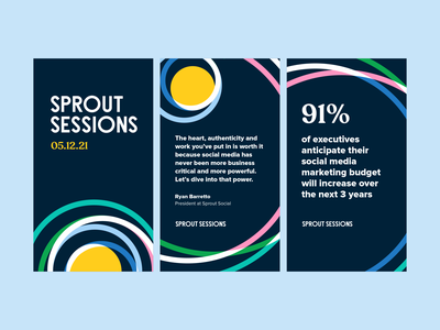 Sprout Sessions Event Identity and Art Direction