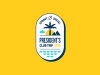 President's Club Trip Branding