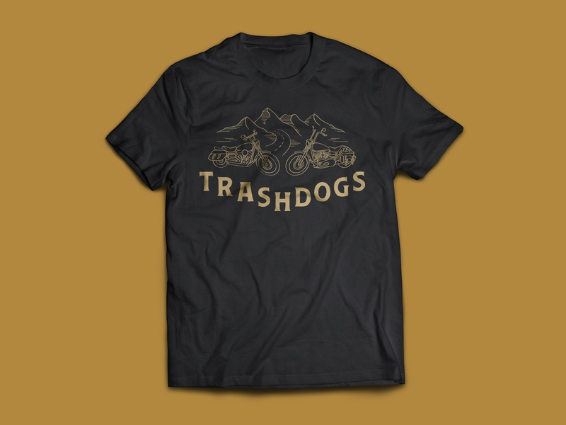 Cross Country Motorcycle Ride T-Shirt Design vector design typography illustration and type black and gold illustration design t-shirt design t-shirt line illustration highway road mountain road mountains motorcycle club motorcycle vector illustration illustration