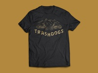 Cross Country Motorcycle Ride T-Shirt Design