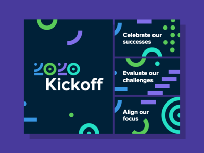 2020 Kickoff Internal Signage