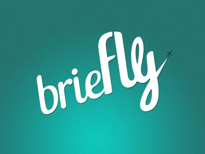 Briefly logo icon blog travel