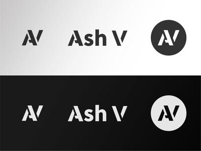 Ash V 2020 identity design stencils logo branding design