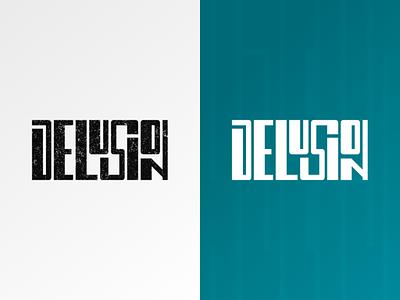 Delusion - car collective logo community stance car show branding design logodesign logo typography