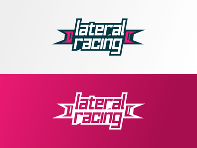 Lateral Racing Logo racing time attack livery porsche cup porsche logodesign motorsport racing team racing logo brand identity logo branding