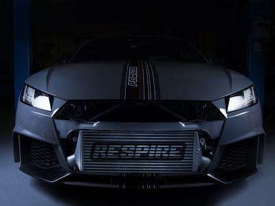 Respire - Intercooler car modification automotive breathing racing team motorsport brand identity logo branding design