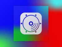 Drum-fill application icon