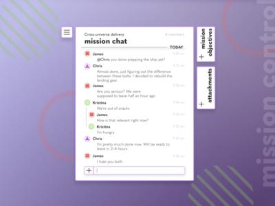 Daily UI 013 Messenger
