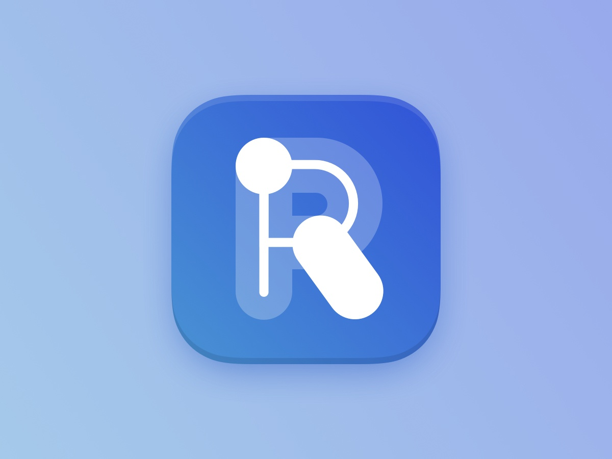 Riot.Im Icon icon app decentralized riot dailyui dailyui005 icon gradient minimal design