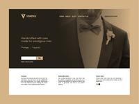 Venedix website UI