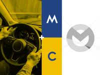 Mwacar logo concept & construction.
