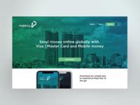 Moja Pay website UI