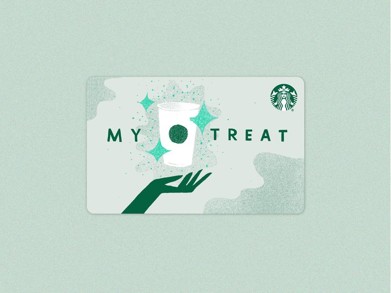 My Treat Starbucks Gift Card
