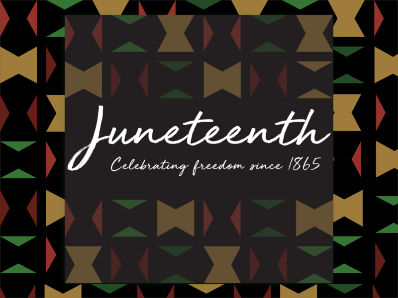 Juneteenth 2020 vector minimal visual design design black history celebration freedom day juneteenth
