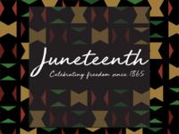 Juneteenth 2020 vector minimal visual design design black history celebration freedom day juneteenth