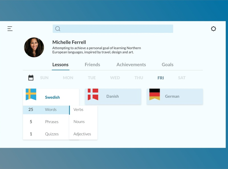 Language User Profile