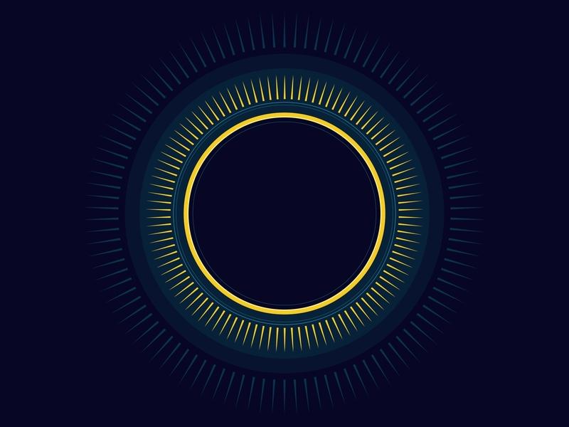 Lunar Eclipse 2017 minimalism sun space lunar eclipse minimal visual design