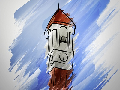 Bell Tower Illistration