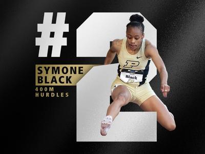 Purdue Track - Symone Black