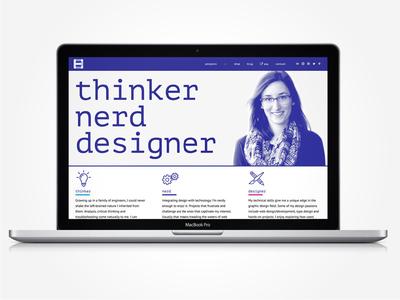 Portfolio website in progress online wordpress web development web design website portfolio