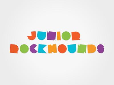 Junior Rockhounds branding font geometric children kids typeface typography font