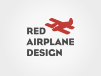 Red Airplane Design logo