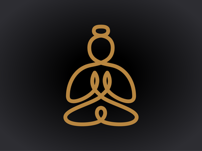 Buddha line drawing icon line drawing continuous line logo line buddha