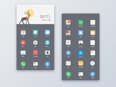 Mobile phone theme