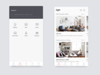 Home life user interface