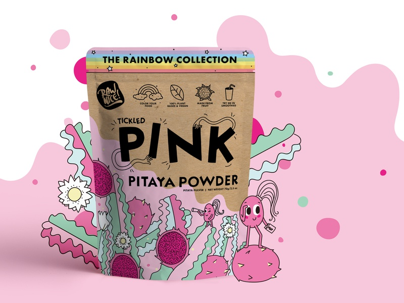 Tickled Pink Pitaya Packaging
