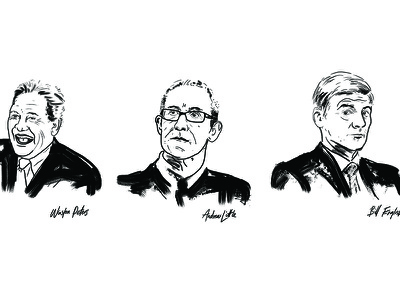 Sketchy Politicians illustration
