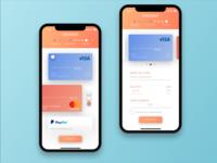 Checkout Mobile UI