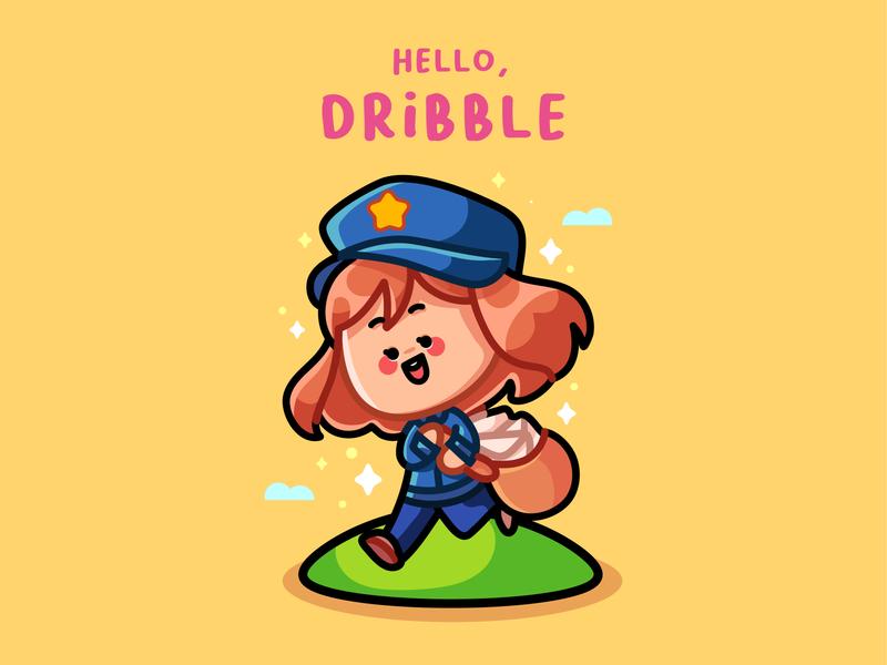 hello,Dribble artist art artwork illustration