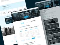 Strong4Life Web Design webdesign design sketch branding ui  ux flatdesign