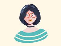 Portrait - Mags