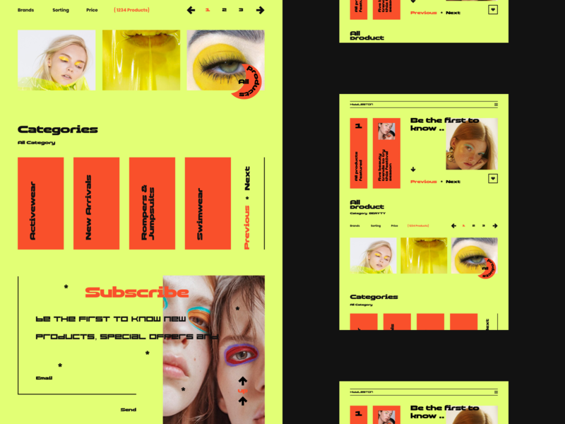 Mango ❌ illustration design ui ux website colour palette flat web  design web typography