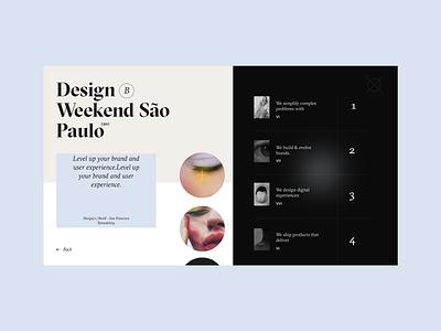Design Weekend web design website design webdesign illustrator uiux uidesign fashion dribbble ui design ui  ux design flat illustration web  design colour palette web website typography ux ui