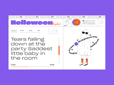 Halloween2020 illustrations shop playlist music ghost helooween2020 illustration art illustrator dribbble helloween dribbbleweeklywarmup illustration web  design