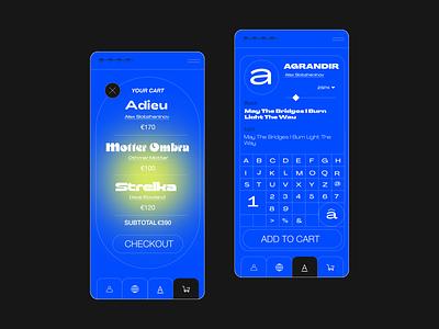 Font/Mobile ui design uiux ui  ux website font design mob mobile design mobile app design mobile app mobile ui ui ux branding web  design typography mobile