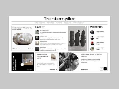 News website branding art webdesign uiuxdesign uidesign uiux design newspaper news web ui ux typography product design web  design