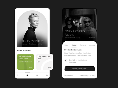 Movie App illustration colour palette typography film ui design uidesign ui  ux webdesign mobile app mobile app design mobile design mobile ui design ui website ux web  design mobile